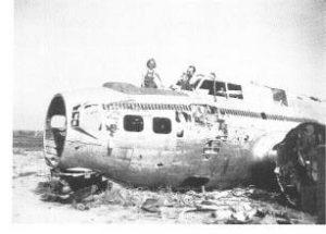"""Het Amerikaans vliegtuig dat bij het begin van de oorlog een """"noodlanding"""" moest maken in Delle"""